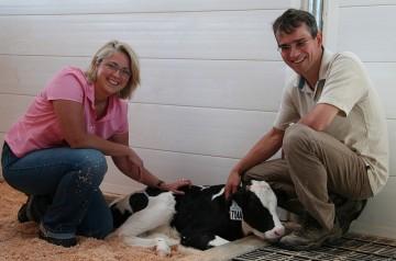 Drs. Nina von Keyserlingk and Dan Weary
